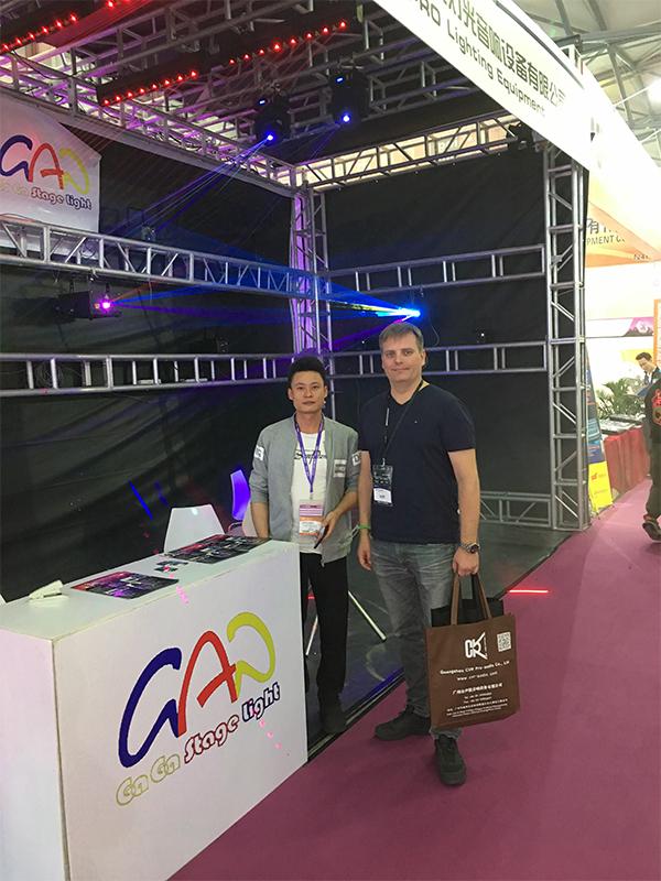 GAGA Light attend Prolight+sound 2018 in Shanghai