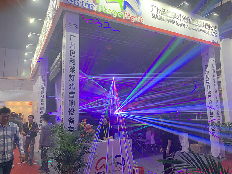 GAGA Light attend GET Show Lighting exhibition in Guangzhou
