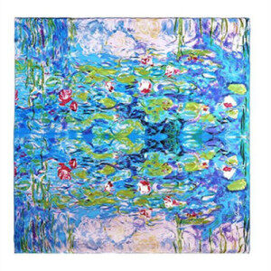 Hot sale High quality 100% Pure Silk fashion Scarf Women Scarf made in China