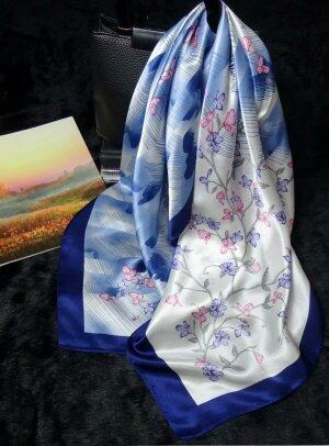 New korean fashion silk scarf 90*90