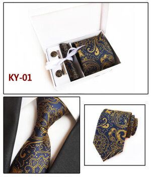Big Flower Polyester neck tie