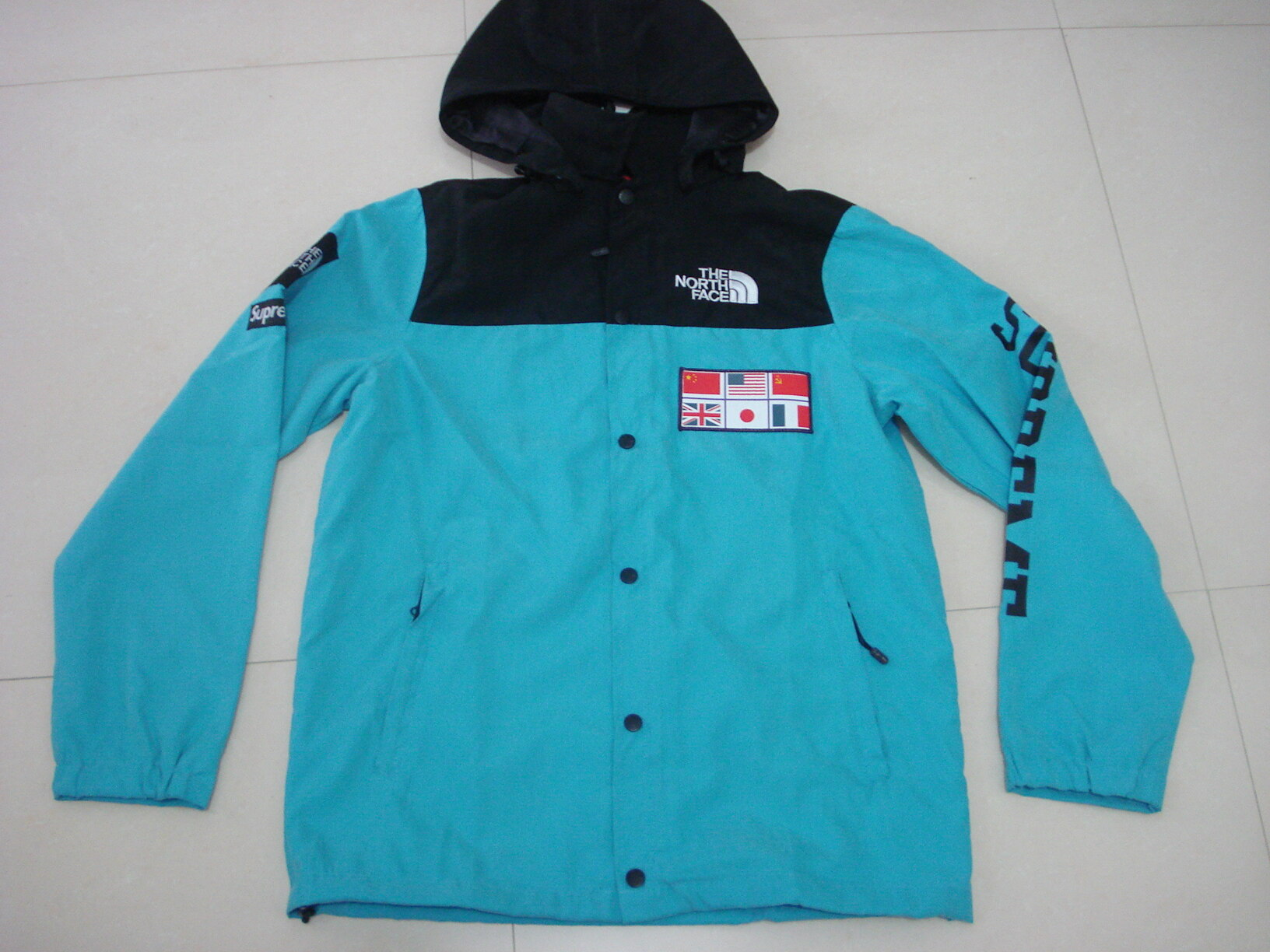 32ff7e0cb purchase supreme north face jacket teal 281d4 d3175