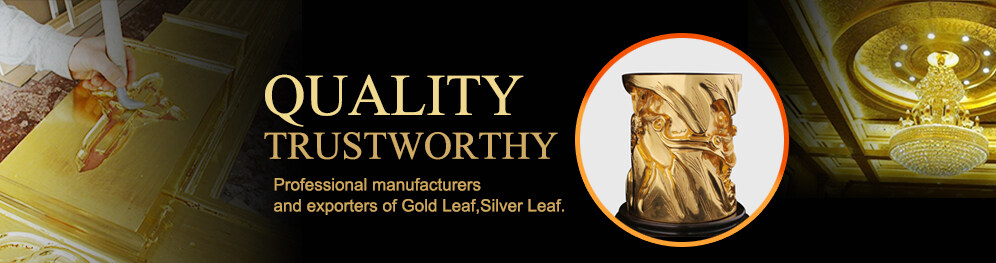 manufacturers and exporters of gold leaf, silver leaf