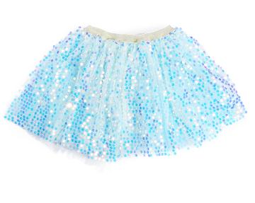 Fashion Baby Girl Sparkle Sequins Tutu Skirt Toddler Ruffles Elastic Waist Tulle Skirt Christmas Costumes