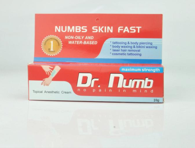 DR Numb Cream Tattoo Supply