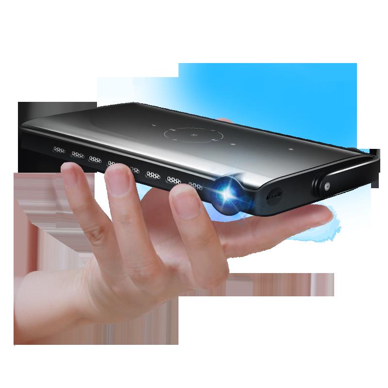 iXunGo P2 Mini Pico Projector with Keystone Function (Black)