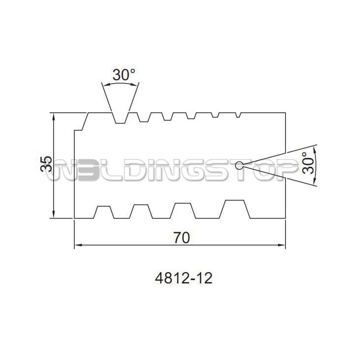 29//30Degree ACME Screw Thread Gauge Gage Tool Grinding   BPHH