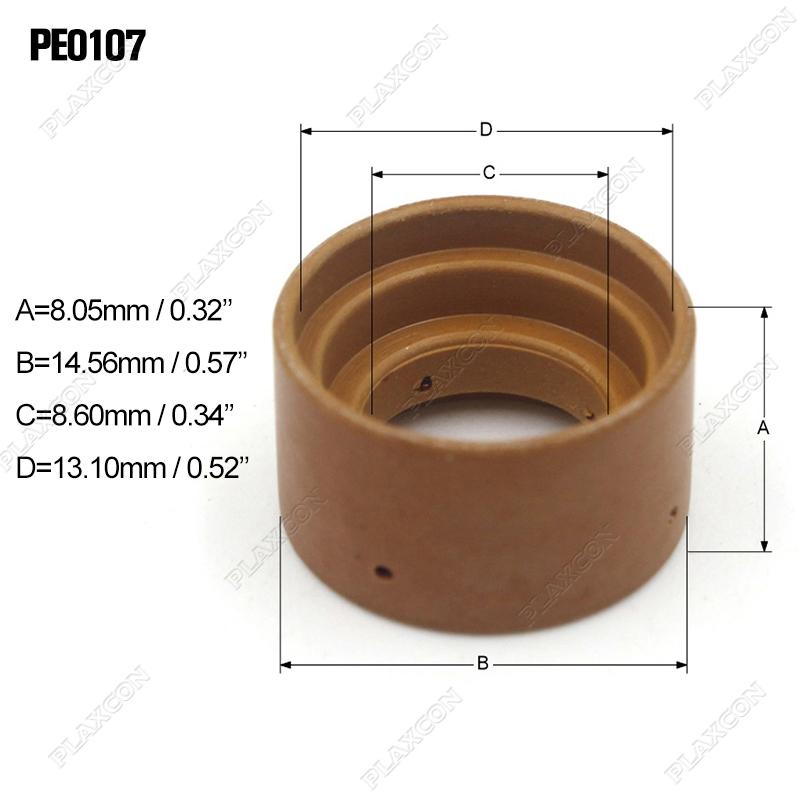 PE0112 Air Diffuser for Plasma Cutting Trafimet S75 S105 Torch Consumables 2pc