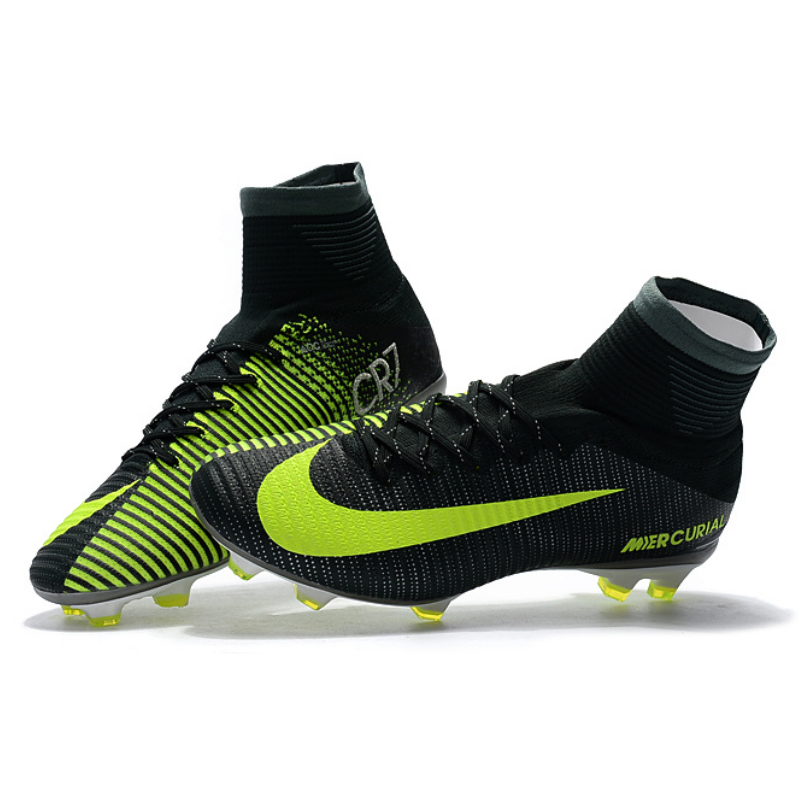 outlet store 9fec1 f529b CR7 Mercurial Superfly Vapor XI Outdoor FG Soccer Cleats Boots Size 35-45  --- CR7003
