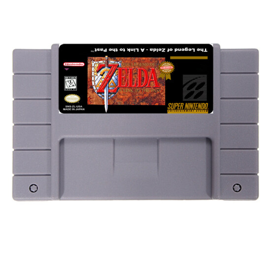 The Legend Of Zelda A Link To The Past 16 Bit Snes Game