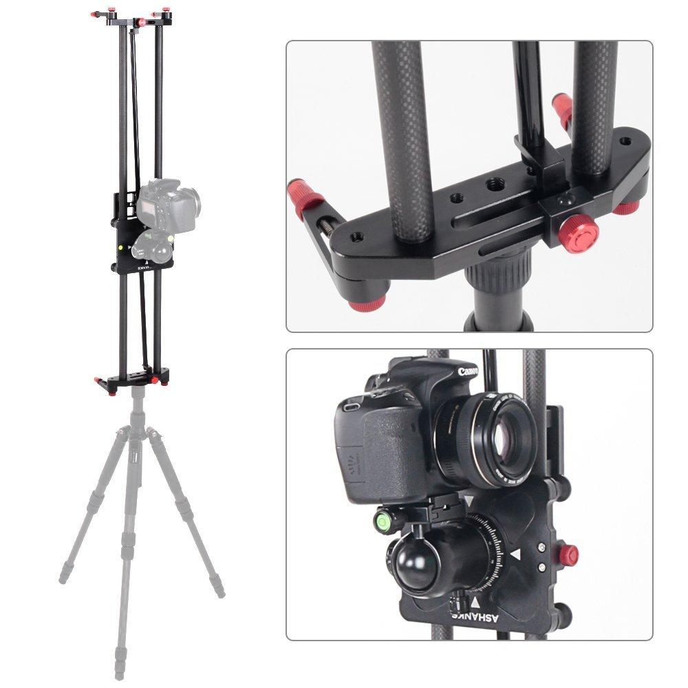 Carbon slider for time lapse photography ashanks video for Motorized camera slider timelapse