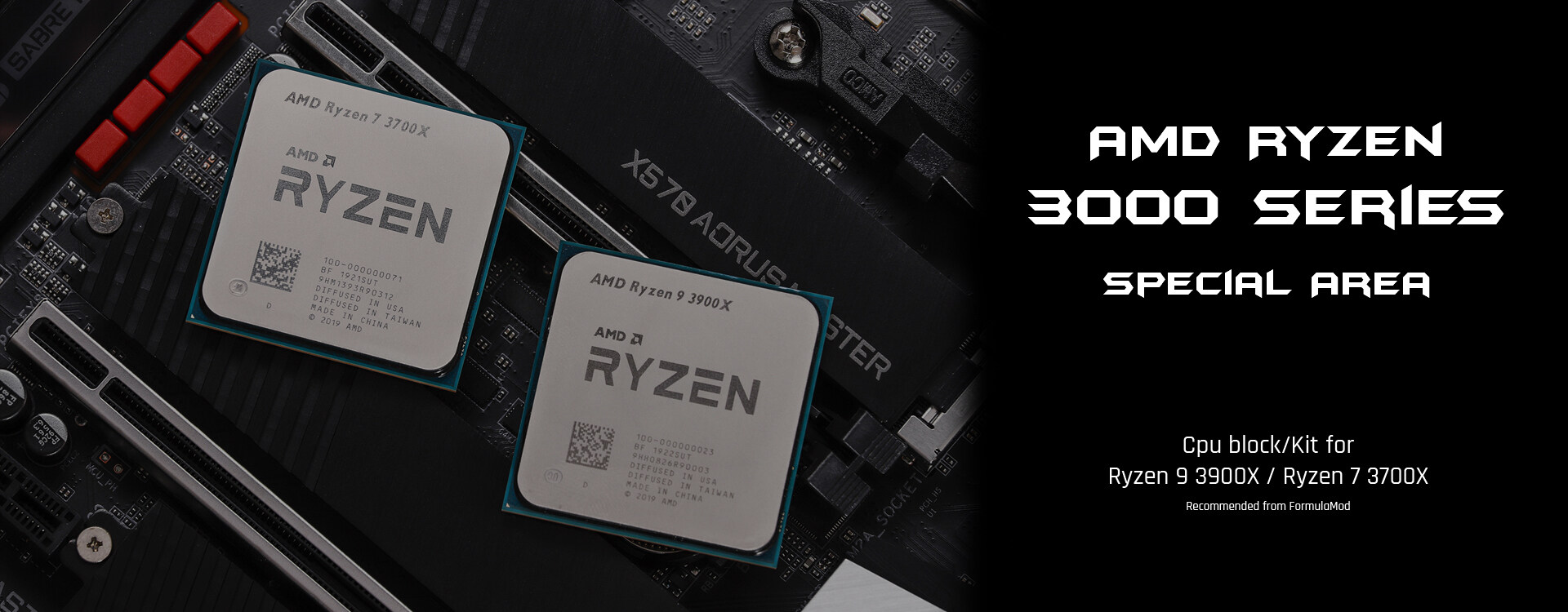 Recommended for Ryzen 3000 series