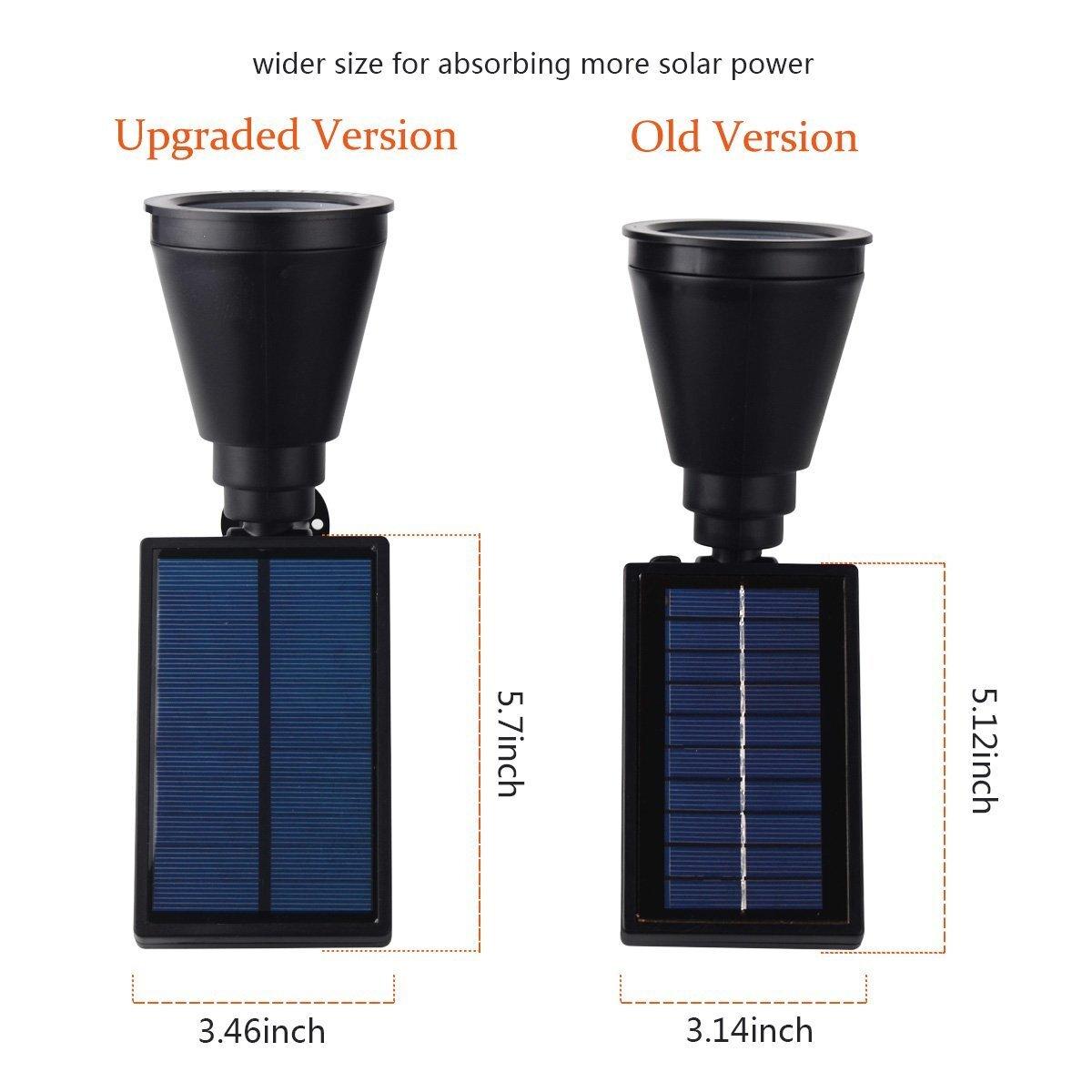upgraded solar lights 2