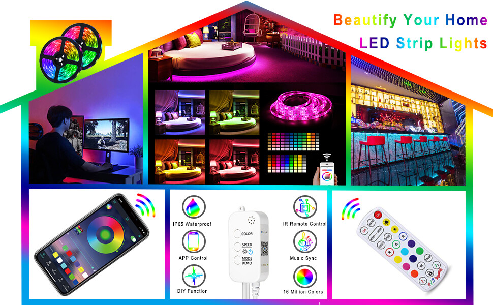 AOTIBESO Smart LED Strip Lights