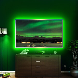 Perfect for TV backlighting