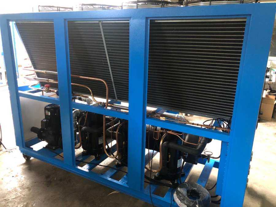Export to Thailand/Order producing 30HP air cooled chiller, May 2020