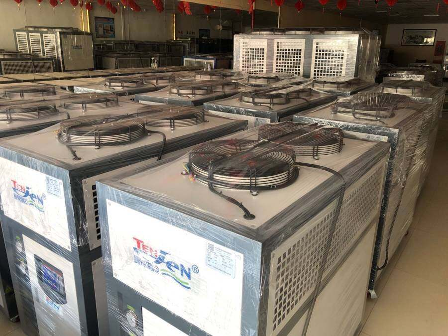 What are the common locations of noise generated by air cooled chiller?