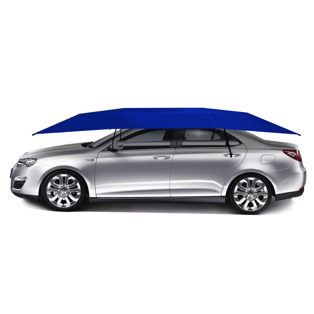 Manual Car SUV Umbrella Portable Sunproof Car Sun Shade Movable Car ... 337b1f0ff0d