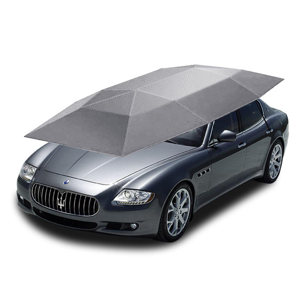 Car Cover Tent : Portable car tent high quality auto umbrella roof
