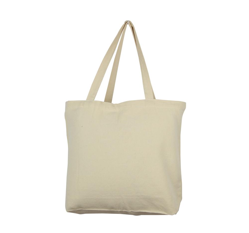 Lg0084 Plain Thick Nature Cotton Canvas Tote Bag