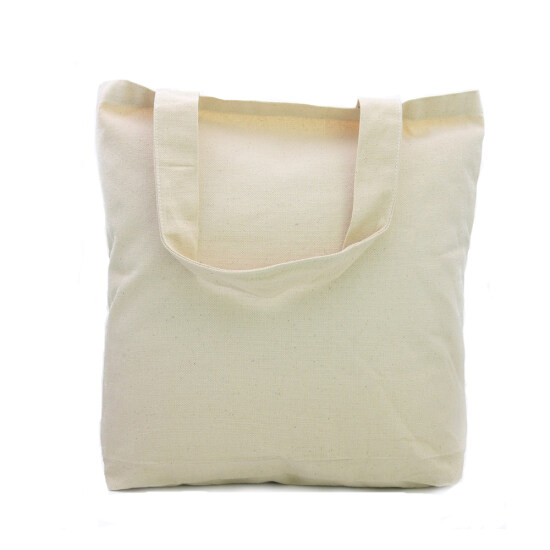 573559736aa4 Cotton Canvas Cosmetic Bag