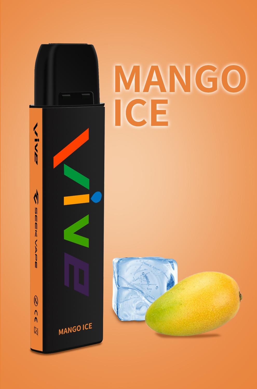 Seek Vape VIVE Disposable Vape Pen Mango Ice 1597059503157 0 Vive Disposable Vape Pen (600 Puffs)