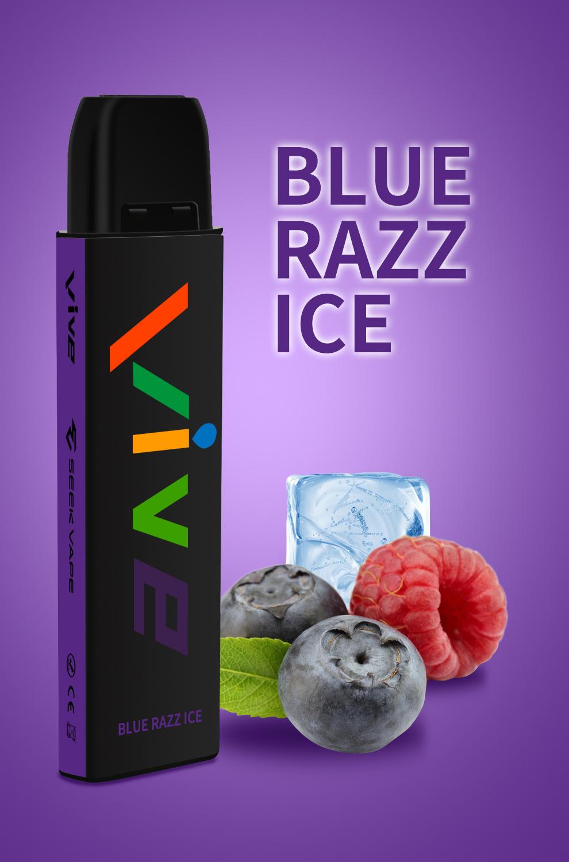 copy of Seek Vape VIVE Disposable Vape Pen Blue Raz Berry 1597059657325 0 Vive Disposable Vape Pen (600 Puffs)