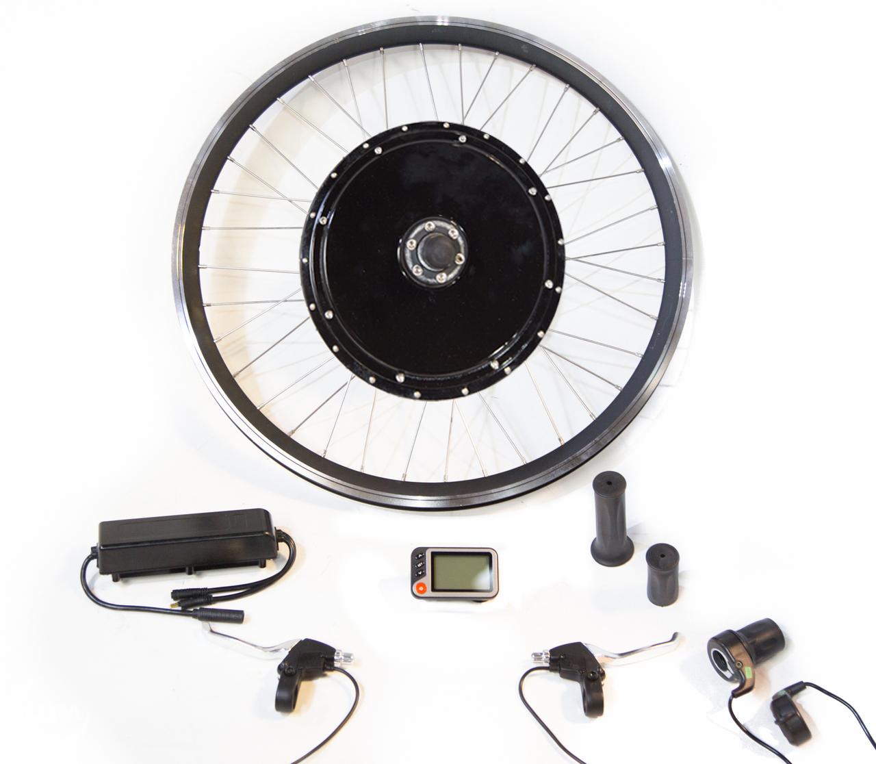 Fat Tire Electric Motor Kit: 48v 1000w/1500w Fat Tire Gearless Motor Electric Bike