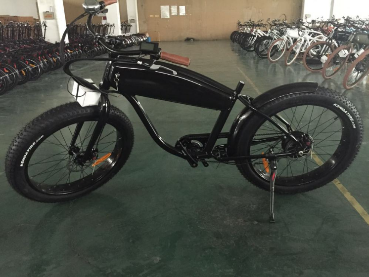 26 Vintage Classical Stealth Bomber Fat Tire Harley