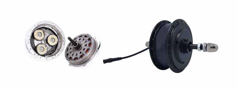 Geared v.s. Direct Drive eBike motors