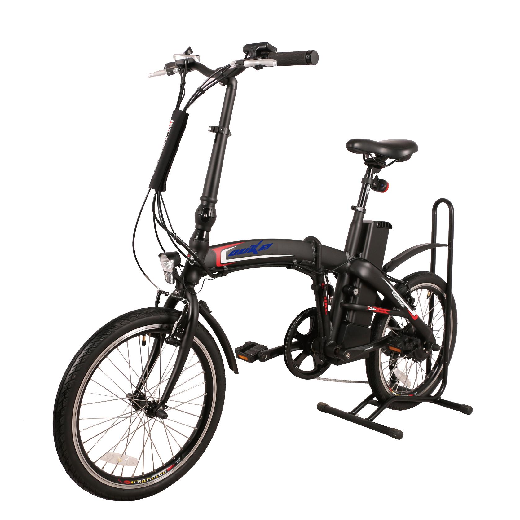 20 Inch Light Weight 36v 250w Eu Standard 25km H Rear Drive Gear Brushless Hub Motor Folding Electric Bicycle