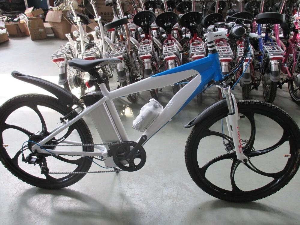 Magnesium alloy motor wheel mountain electric bike 2