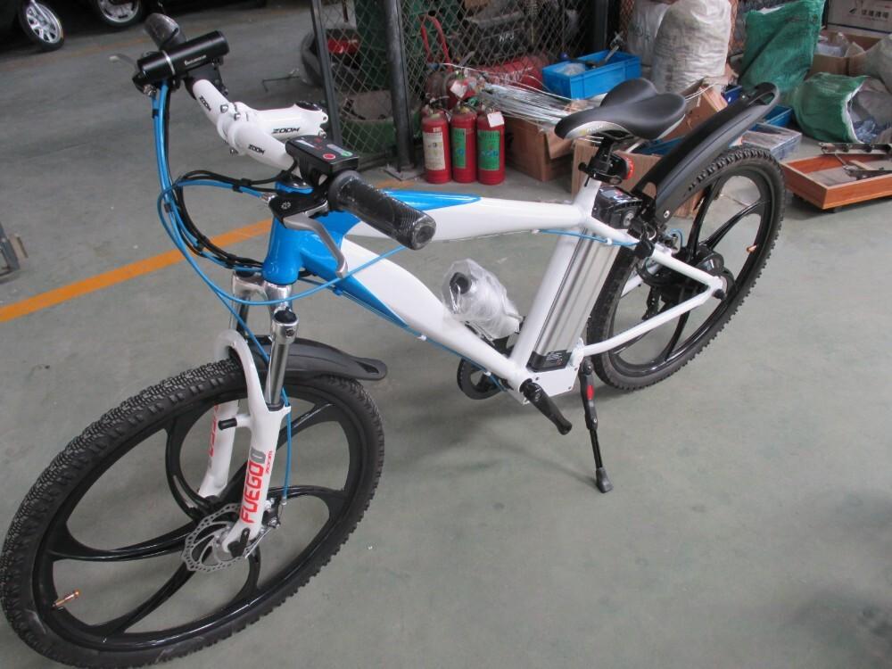 Magnesium alloy motor wheel mountain electric bike 4