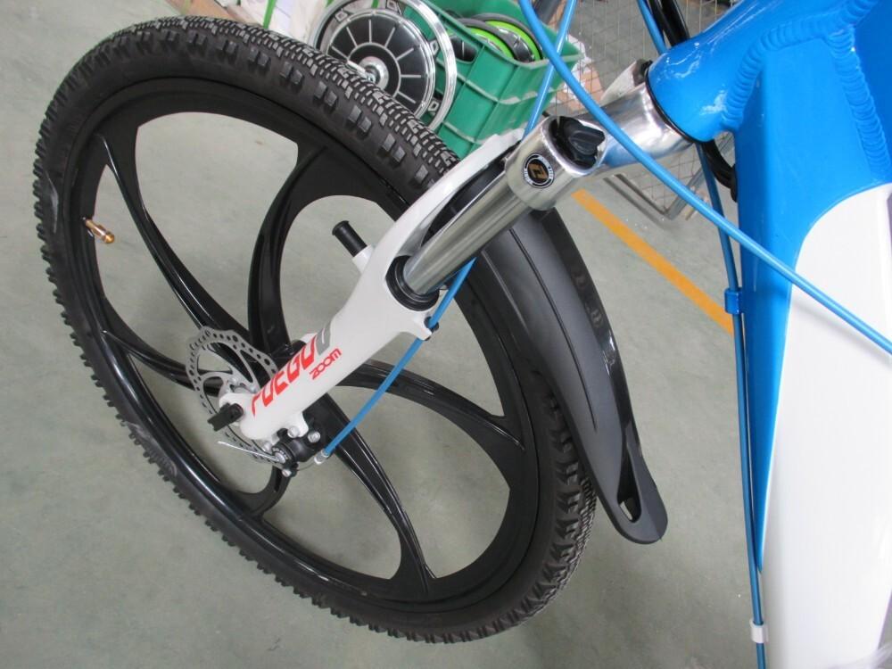 Magnesium alloy motor wheel mountain electric bike 3