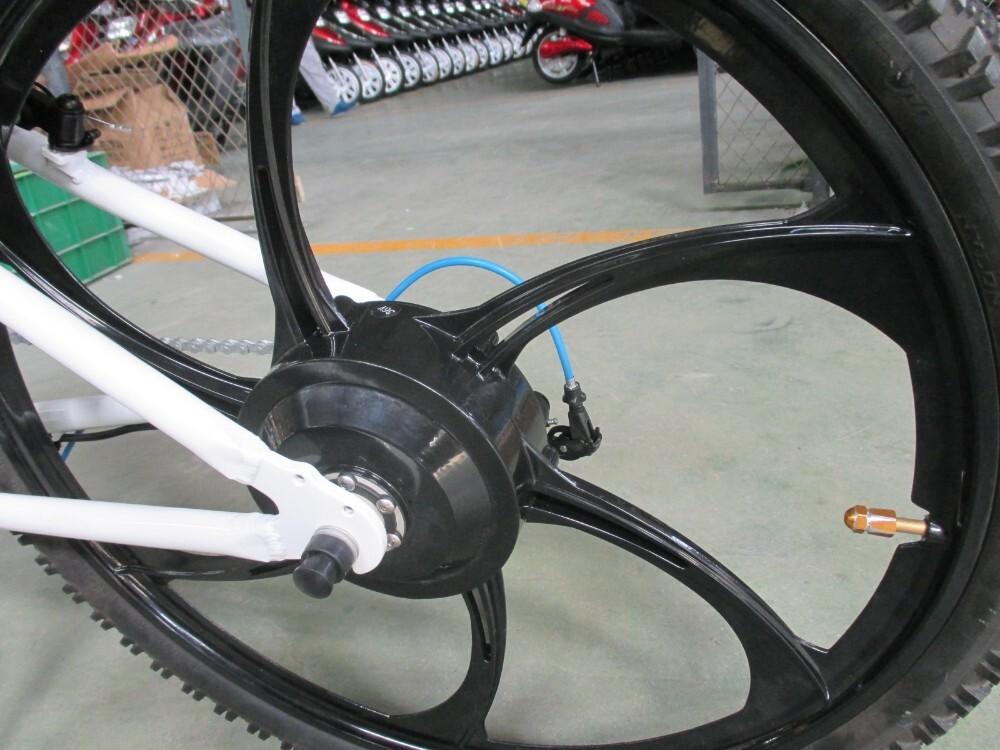 Magnesium alloy motor wheel mountain electric bike 5