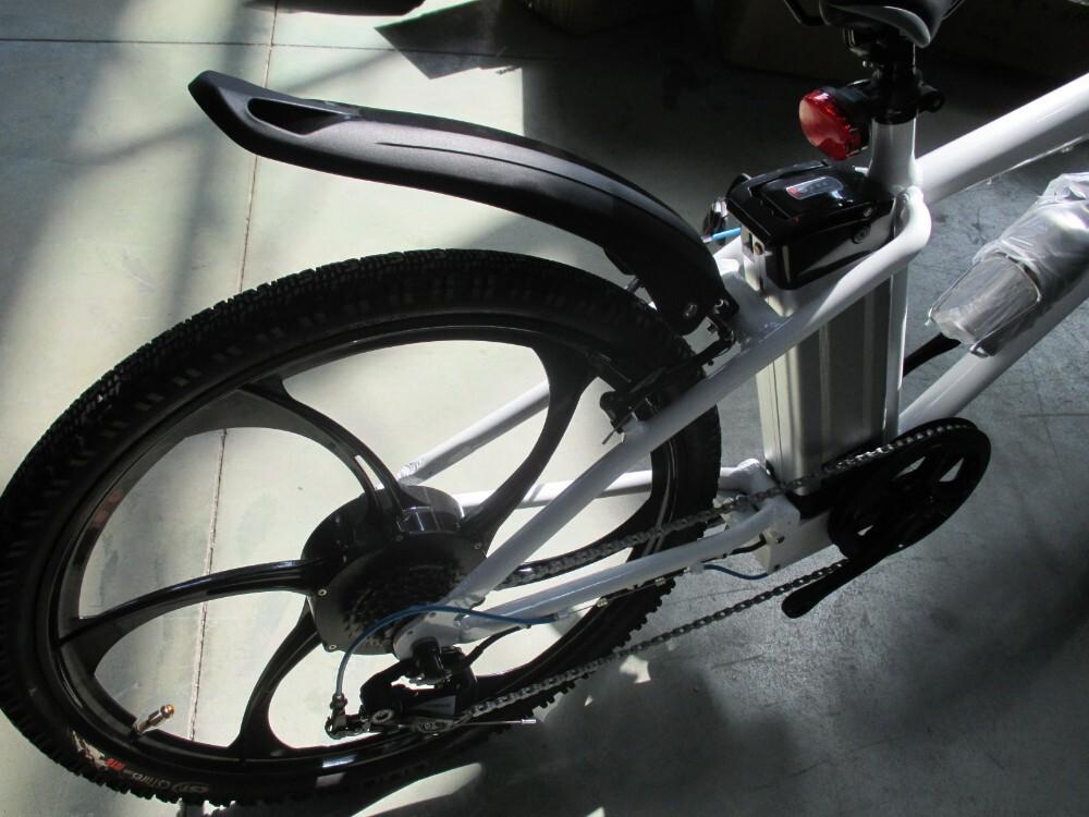 Magnesium alloy motor wheel mountain electric bike 6