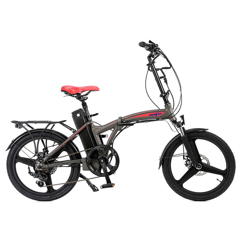 20 inch 3 spoke motor wheel folding electric bicycle 3