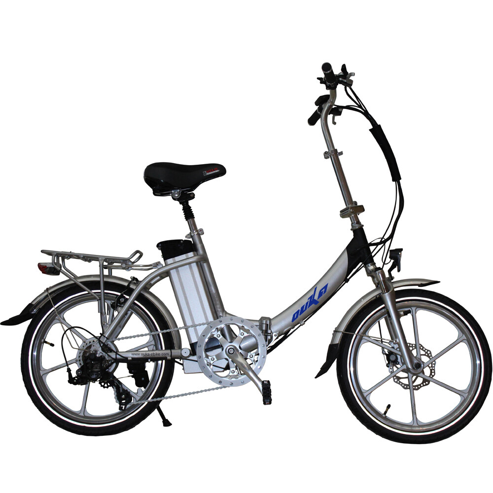 classical full magnesium alloy motor wheel 20 inch folding e bicycle