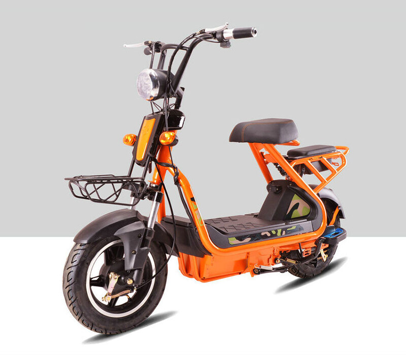 ce 500w pedal assisted electric scooter sports style. Black Bedroom Furniture Sets. Home Design Ideas
