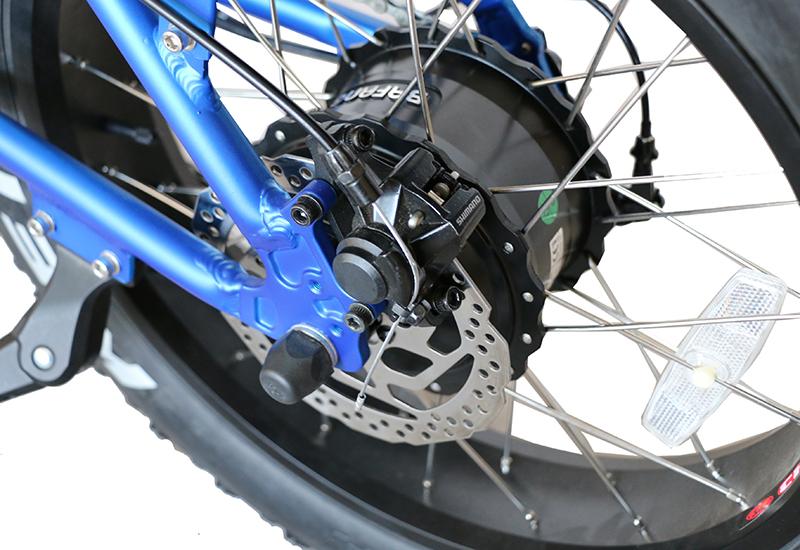 48v 500w Bafang Rear Motor 13ah Samsung Battery Fat Tire Electric Bike