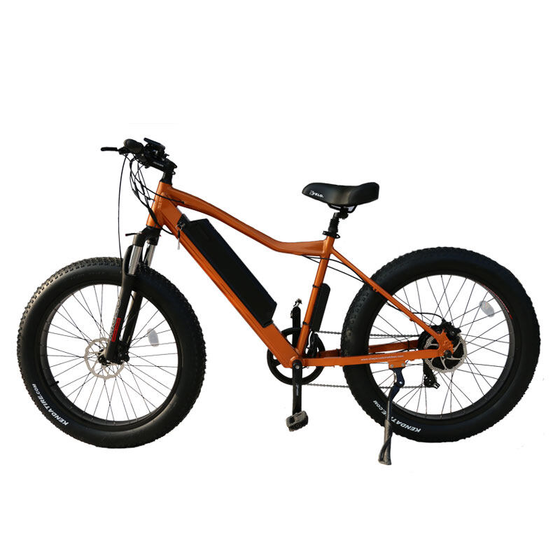 26 inch frame hidden battery fat tire electric bicycle 3
