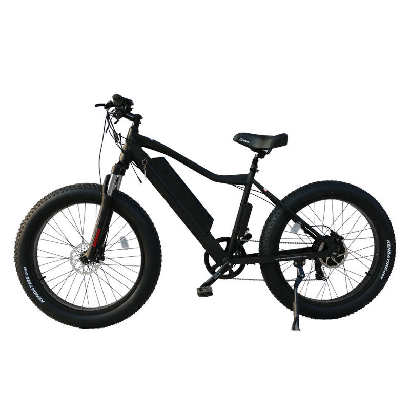 26 inch frame hidden battery fat tire electric bicycle 2