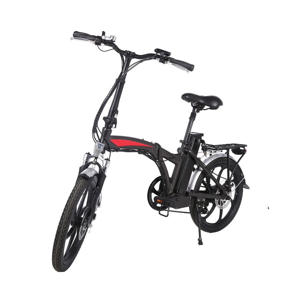 20 inch 3 spoke motor wheel folding electric bicycle 2