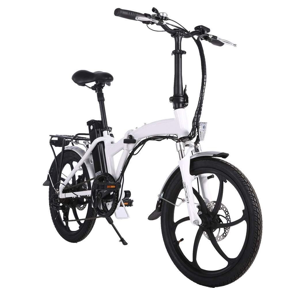20 inch 3 spoke motor wheel folding electric bicycle 1