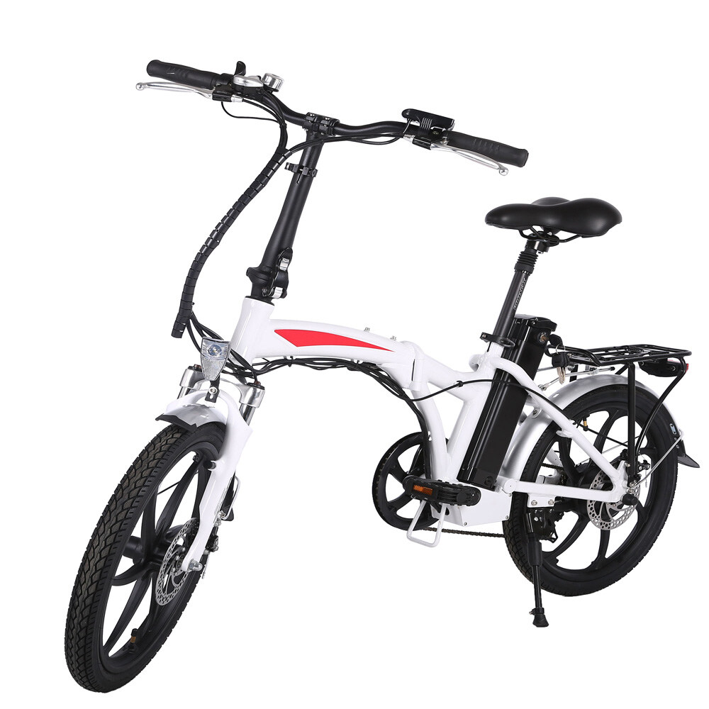 20 inch 3 spoke motor wheel folding electric bicycle 0