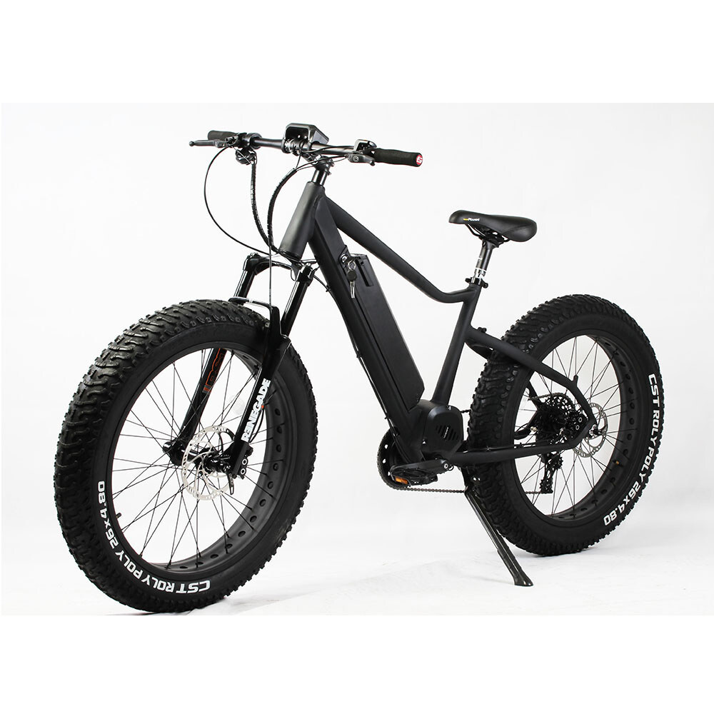 26 inch frame hidden battery and bafang bbs hd 48v 1000w mid drive motor fat tire electric bike 1