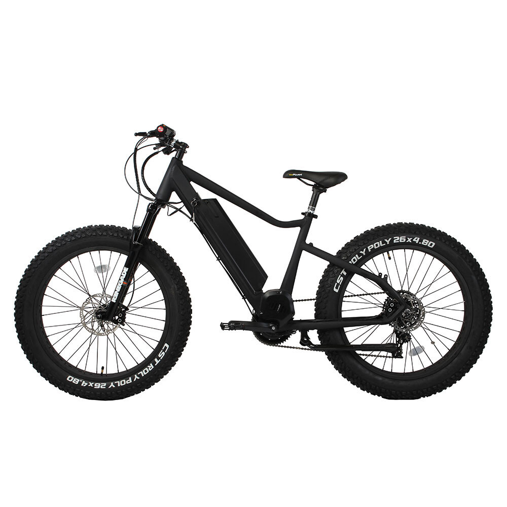 26 inch frame hidden battery and bafang bbs hd 48v 1000w mid drive motor fat tire electric bike 0