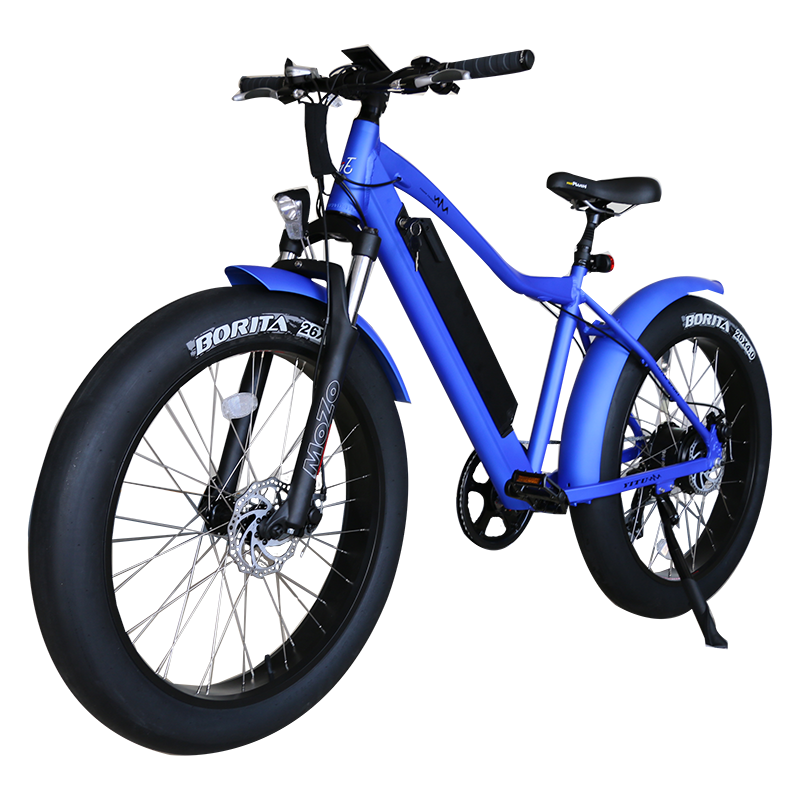 26 inch frame hidden battery fat tire electric bicycle 4
