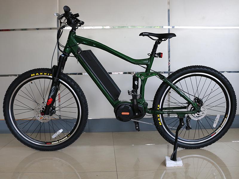 OEM 27 5er boost bafang ultra M620 drive system G510 1000w aluminum enduro  full suspension frame electric bike