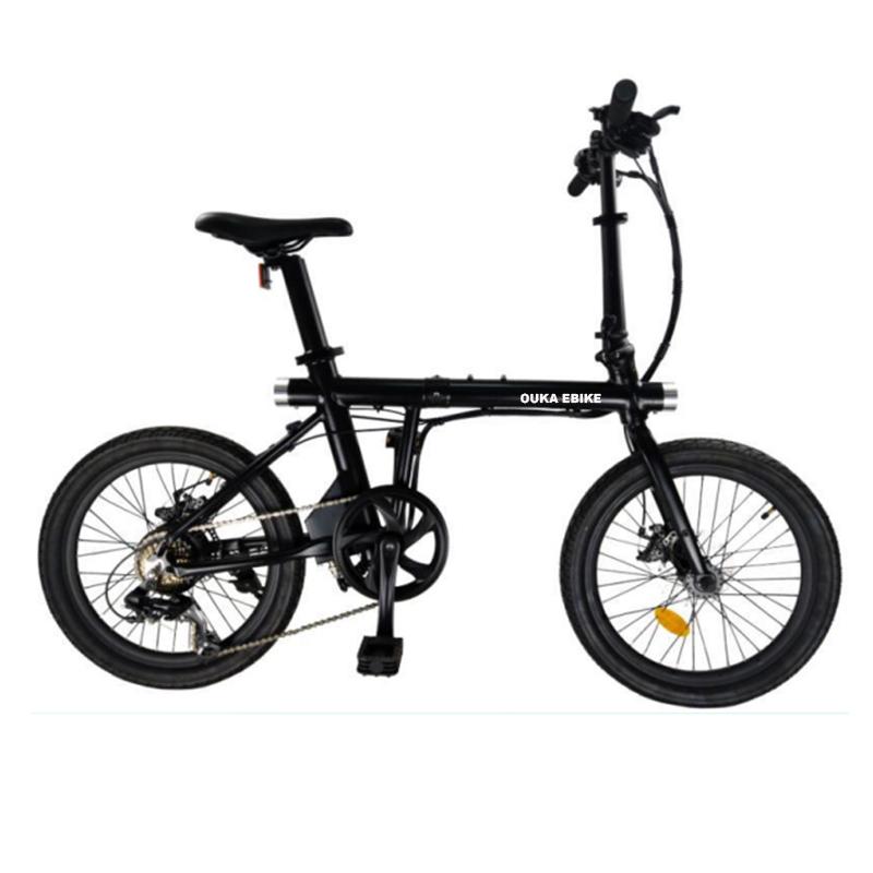 light weight frame hidden battery 20 inch mini folding electric bike